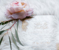Romantic Luxe Wedding Invitations