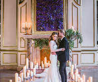 Romantic Luxe wedding portrait