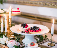 Romantic Luxe Wedding Food Inspiration