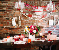 Valentine's Day tablescape inspiration