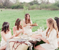 Outdoor spring picnic inspiration