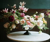 Dramatic floral wedding inspiration