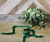 Green and white bouquet
