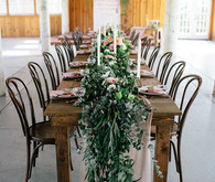 Ivy table garland