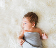 simple sweet newborn photo