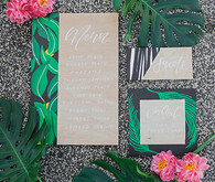 Aloha bridal shower invitation