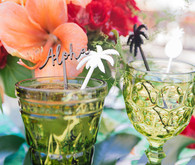 Aloha themed bridal shower