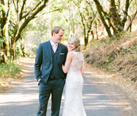 Outdoor Northern California wedding