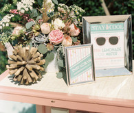 Nautical wedding decor