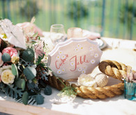 Nautical wedding table number