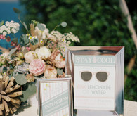 Nautical La Jolla Wedding Signage