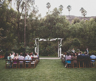 San Francisco outdoor wedding ceremony