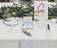 Art Deco place setting