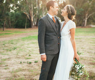 Ojai Rancho Inn Wedding Portrait