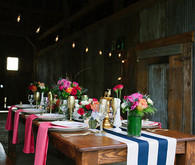 Floral Farm Wedding Tablescape
