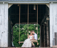 Floral Farm Wedding Portrait