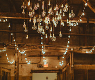 Wedding loft lighting