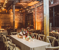 Wedding loft tablescape