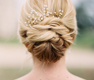 Bridal hair and accessories