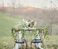 Tuscany inspired tablescape