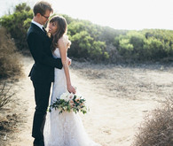 Elegant San Diego wedding portrait