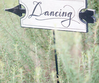Wedding dancing sign