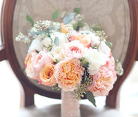 Peach bouquet