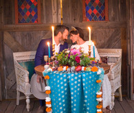 Rustic Moroccan sweetheart table