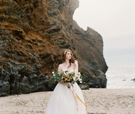Lace Sarah Seven wedding dress