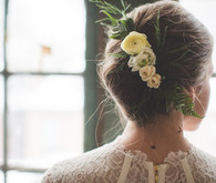 Flower hairstyle