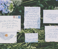 Irish inspired invitations