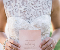 Pink Summer Wedding Invitation