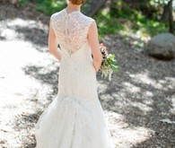 Allure lace bridal gown