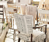 Industrial Wedding Ceremony Seating