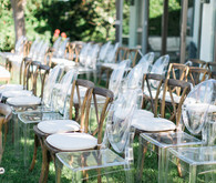 Modern Nautical Wedding Ceremony Seating
