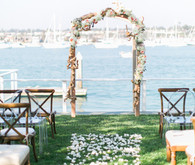 Modern Nautical Wedding Ceremony