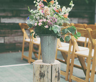 Backyard Utah Wedding Flowers