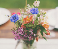 Backyard Utah Wedding Florals