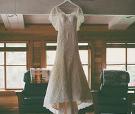 Lace White Wedding Dress
