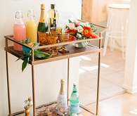 Easter Brunch Bar Cart