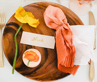 Easter Brunch Place Setting