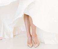 Modern Spring Bridal Shoes