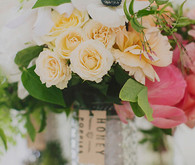 Peony and rose florals
