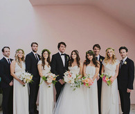 Jewish Bel Air Wedding Party