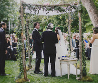 Jewish Bel Air Wedding Ceremony