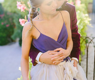 Modern Romeo & Juliet Wedding Inspiration Portrait