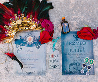 Modern Romeo & Juliet Wedding Invitation