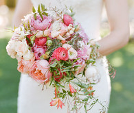 Romantic Outdoor Napa Wedding Bouquets