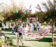 Romantic Outdoor Napa Wedding