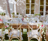 Mrs and Mr. Chair Decor